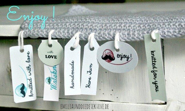 enjoy knitting labels