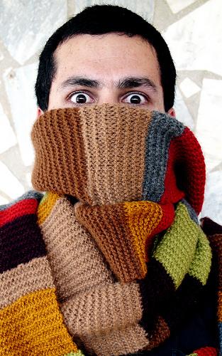 Der Schal aus verschiedenen Episoden