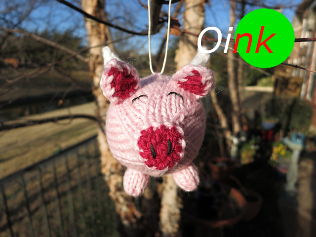 Silvesterschwein. Vielen Dank an KristeBee für das Bild