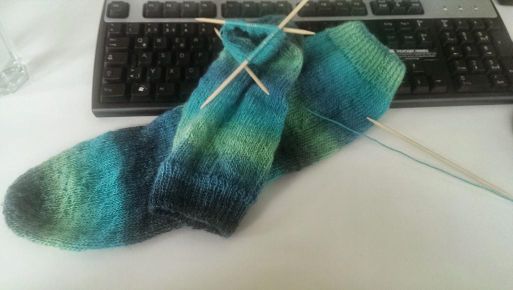 So langsam mag ich Socken ;)