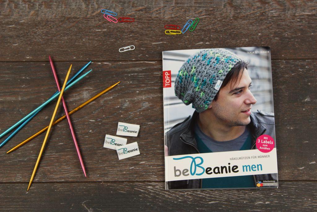 beBeanie men ist ein Häkelbuch für Männermützen