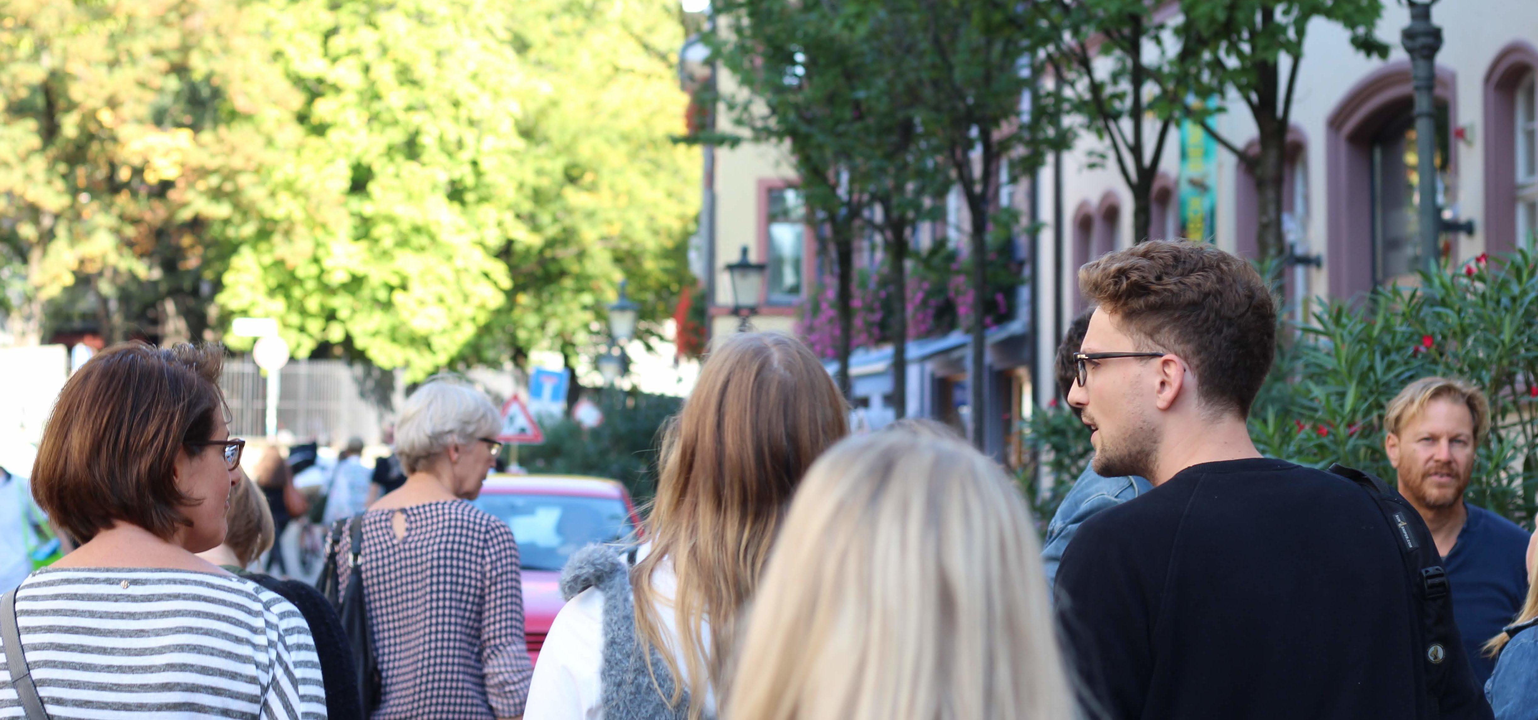 In Freiburg sollte man unbedingt eine Stadtführung besichtigen.