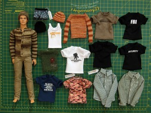 """Ken doll with custom order personalized doll clothes"" // flicrpicture by: Hegemony77 doll clothes"